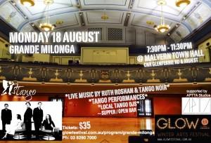 Grande Milonga - Malvern Town Hall - GLOW Festival - 18 August 2014