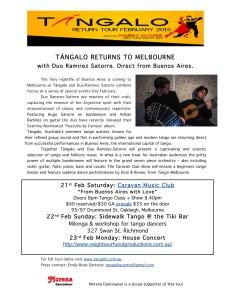 Melbourne - press release,